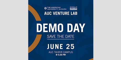 AUC Venture Lab - Arab African International Bank Cycle 12 Demo Day tickets