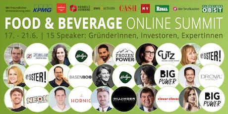 Food & Beverage Innovators ONLINE SUMMIT 2019 (Graz) tickets