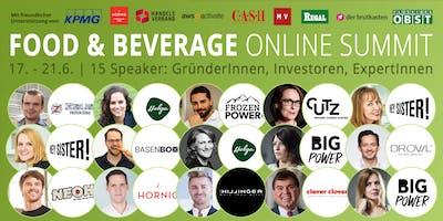 Food & Beverage Innovators ONLINE SUMMIT 2019 (Augsburg)