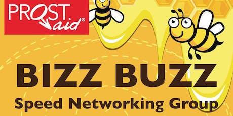 Bizz Buzz Speed Networking- 3rd July 2019 12-2pm tickets