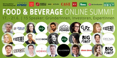 Food & Beverage Innovators ONLINE SUMMIT 2019 (Dresden)