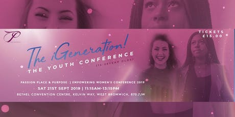 The iGeneration Youth Conference @ PPP 2019 tickets
