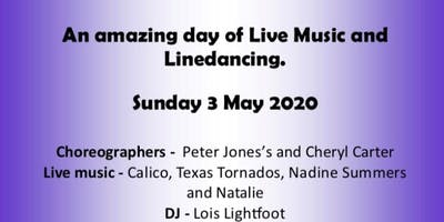 All day Live Music and Linedancing