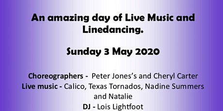 All day Live Music and Linedancing tickets