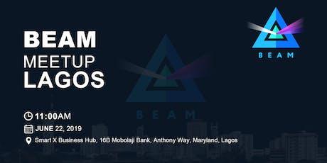 Blockchain Saturday: Lagos Beam Meet-up tickets