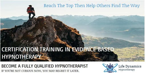 FREE LIVE EVENT Find out How to  Become A Fully Qualified Hypnotherapist
