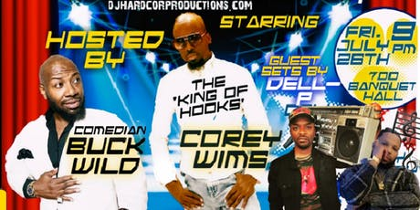 THEY CAN'T DO IT LIKE US HIP HOP COMEDY SHOW 4 tickets