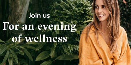 Join us for an evening of wellness with Samantha Flook from the Core Health tickets