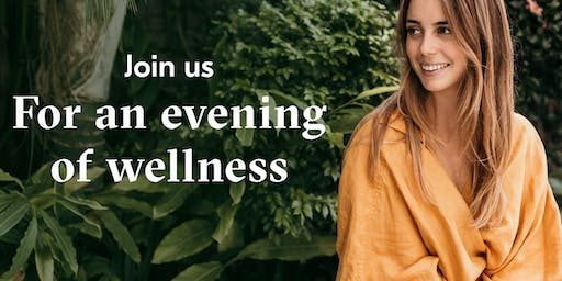 Join us for an evening of wellness with Samantha Flook from the Core Health