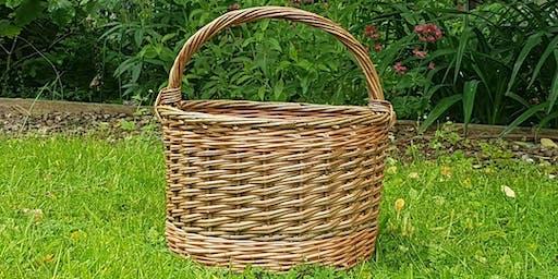 Round Willow Basket Workshop