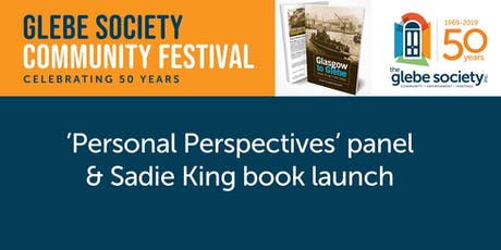 'Personal Perspectives' panel & Sadie King book launch tickets