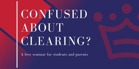 Confused about Clearing? A free seminar tickets