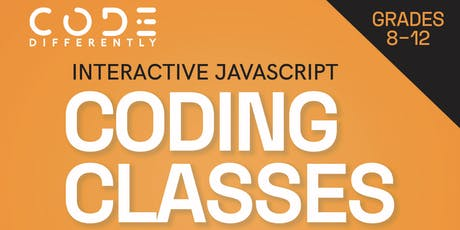 Interactive JavaScript for Grades 8 - 12 tickets