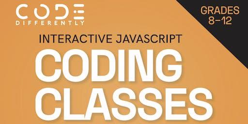 Interactive JavaScript for Grades 8 - 12