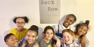 Back Row Short Film Screening