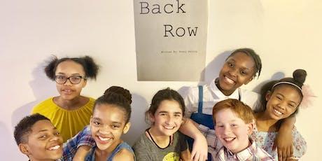 Back Row Short Film Screening tickets