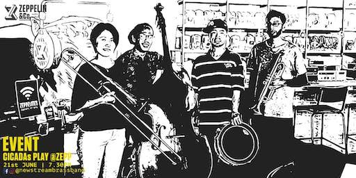 CICADAS PLAY@ZEPP | Lil' New Stream Brass Band