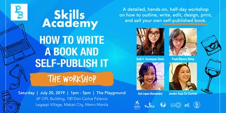 How To Write A Book And Self-Publish It [ THE WORKSHOP ] tickets