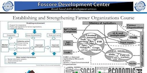 Establishing and Strengthening Farmer Organizations Course-Jul 22 to Jul 26