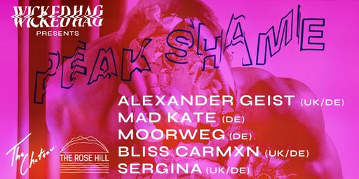 Wicked Hag Presents Peak Shame @ The Rose Hill, Brighton