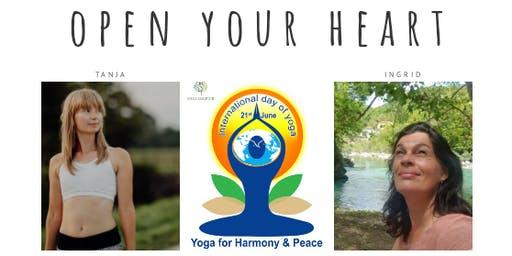 Open your heart - meditation & yoga event