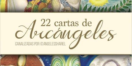 Presentación de las 22 Cartas de Arcángeles en los Ángeles BCN. entradas