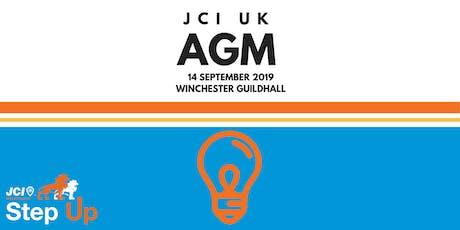 JCI UK AGM 2019 tickets