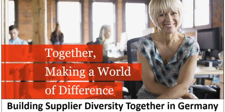 Building Supplier Diversity Together in Germany - corporates tickets