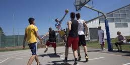 Basketball at Strandbad