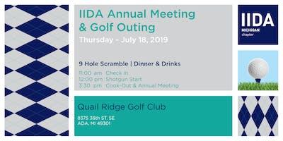 Michigan IIDA Annual Meeting & Golf Outing