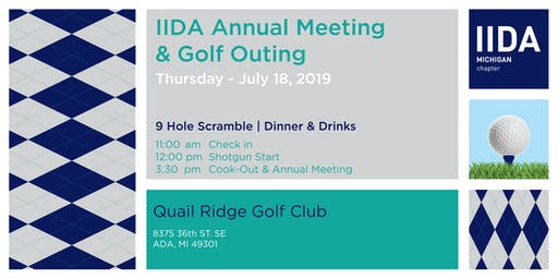 Michigan IIDA Annual Meeting & Golf Outing