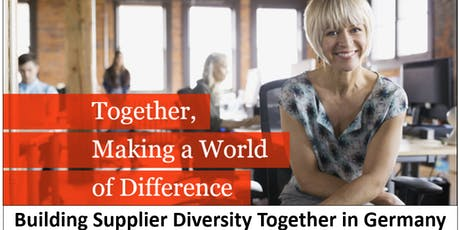 Building Supplier Diversity Together in Germany tickets