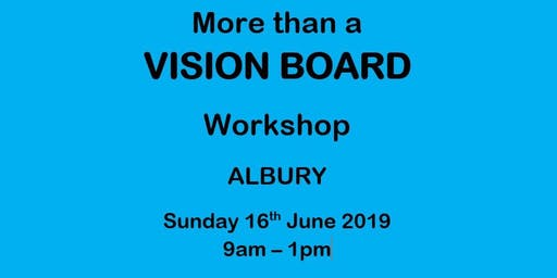More Than A Vision Board Workshop
