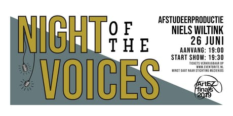 Night of the Voices tickets