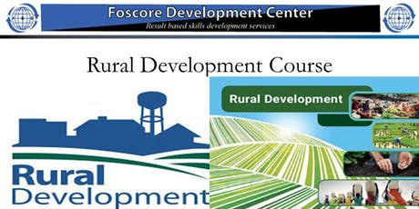 Rural Development course-Jul 29 to Aug 02,2019 for 5 Days tickets