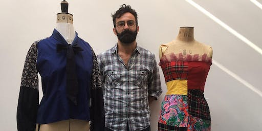 Sewcial with Riccardo Guido, finalist of the Great British Sewing Bee