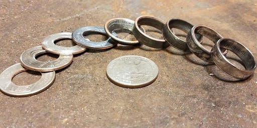 Adult (BYOB) coin ring class (great date night!!)