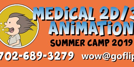 2D/3D Medical Animation Summer Camp tickets
