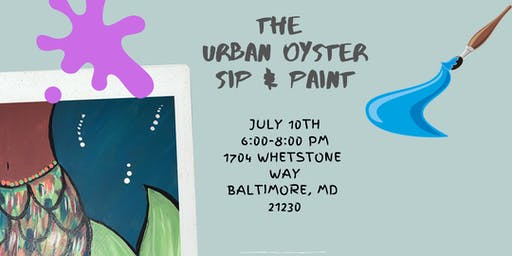 Urban Oyster Sip and Paint