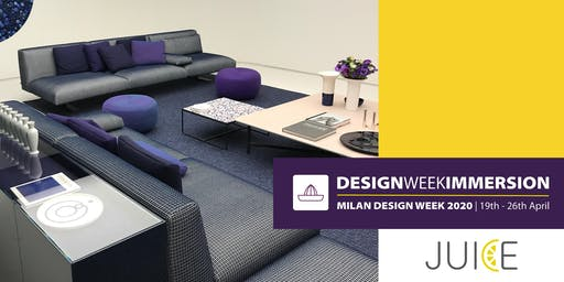 Design Week Immersion | Milan Design Week 2020