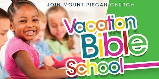 The Mt. Pisgah Church Vacation Bible School 2019