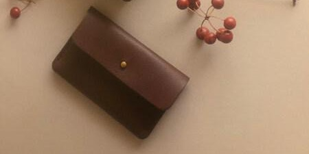 DIY Small Leather Goods Making Class - Make a Coin Purse/Cardholder