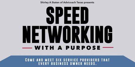 Speed Networking with a Purpose tickets