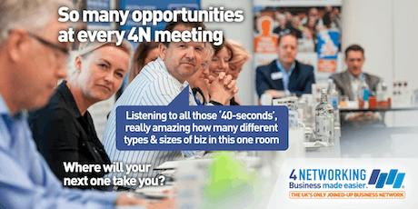 4N Networking Falkirk 25th June 2019 tickets