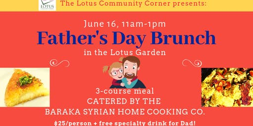 Father's Day Syrian Brunch