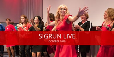 SIGRUN LIVE Workshops Sunday October 20, 2019