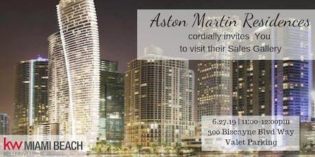 Aston Martin Residences Tour tickets