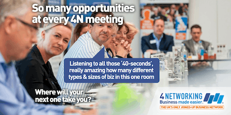 4N Networking Lunch Glasgow City Centre 26th June 2019 tickets