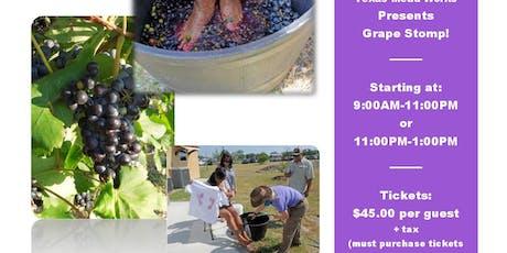 Grape Stomp Seguin! tickets