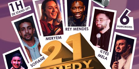 21 Comedy Folks #3 - Standup billets